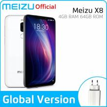 Movil chino Meizu X8 4Gb 64Gb o 6GB 120GB Versión Global procesador Snapdragon 710 Octa Core