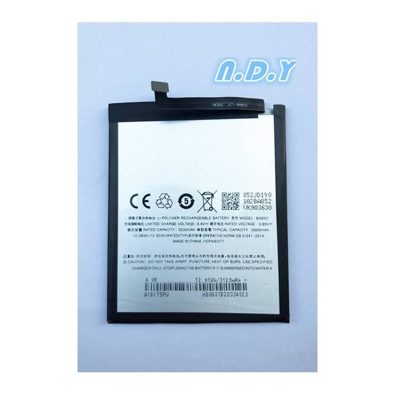 Bateria original de 3300 mAh para movil chino MEIZU X8