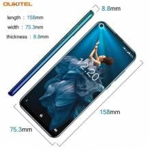 "Movil chino OUKITEL C17 Pro pantalla 6,35"" Android 9,0 MTK6763 Octa Core 4G RAM 64G ROM doble 4G LTE"
