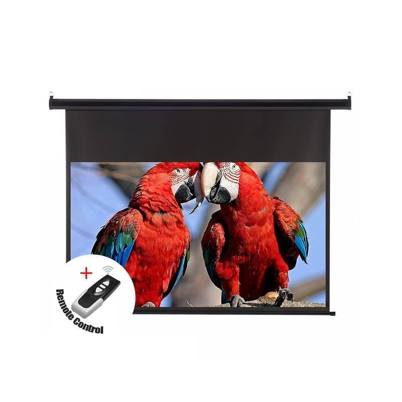 "Fantastica pantalla proyector de 120"" 16:9 electrica con techo pared plegable"