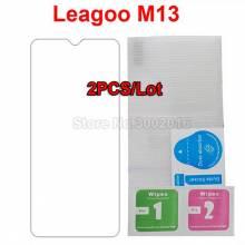 2 Unidades de protector de pantalla vidrio templado de alta calidad para movil chino  Leagoo M13