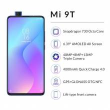 Movil chino Xiaomi Mi 9T 128GB ROM, 6GB RAM, Triple Cámara de 48 MP, Android, Versión Global para España