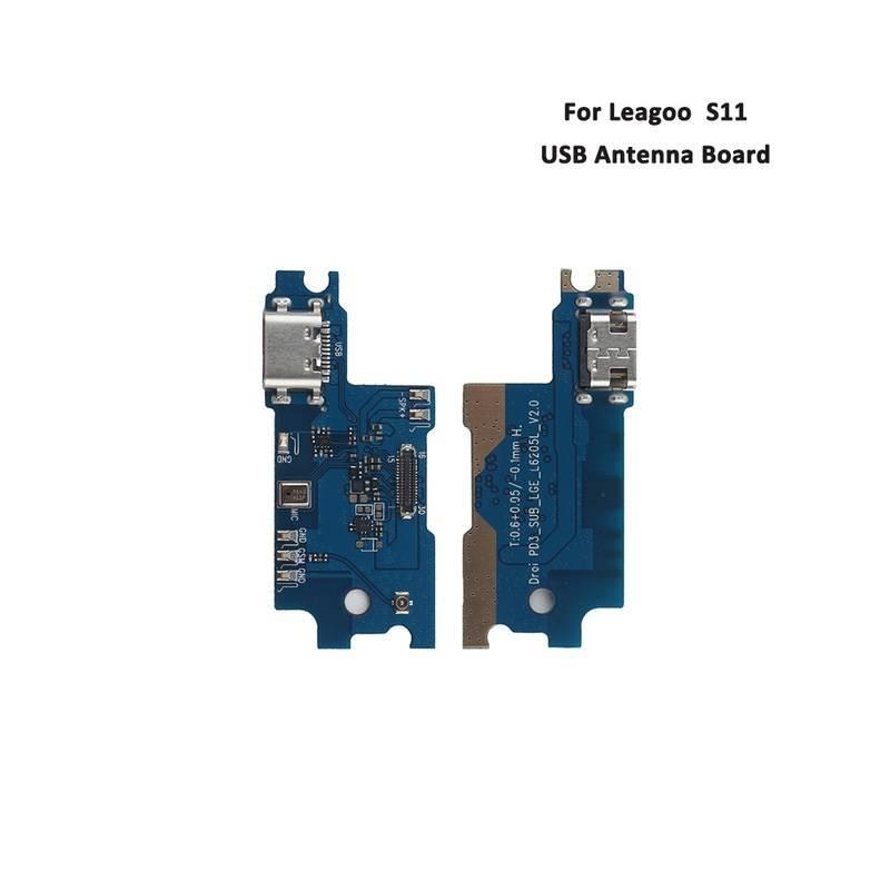 Repuesto placa USB cargador de enchufe para movil chino Leagoo S11