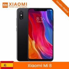 Movil chino Xiaomi Mi 8 Versión Global de 64GB /128GB, RAM de 6 GB, Cámara trasera de 12 MP+12 MP Snapgragon 845
