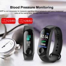Pulsera inteligente china M3 Plus Frecuencia Cardíaca presión arterial impermeable bluetooth fitness