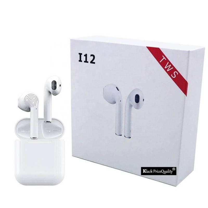 ▷Auriculares Bluetooth chinos I12 i100 Tws con microfono inalambricos para deporte originales