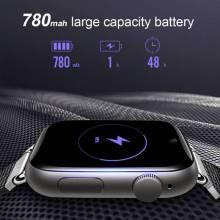 Reloj inteligente LEMFO LEM10 pantalla 1,88 pulgadas OS Android 7,1 3G RAM 32G ROM 4G LTE Cámara GPS WIFI