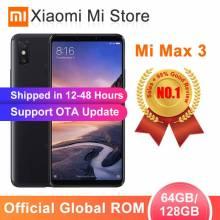 """Movil chino Global ROM Xiaomi Mi Max 3 4 GB 64 GB/6 GB 128 GB Snapdragon 636 Octa Core pantalla 6,9"""" bateria 5500 mAh"""