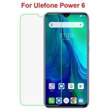 2 Unidades de protector de pantalla vidrio templado de alta calidad para movil chino Ulefone Power 6
