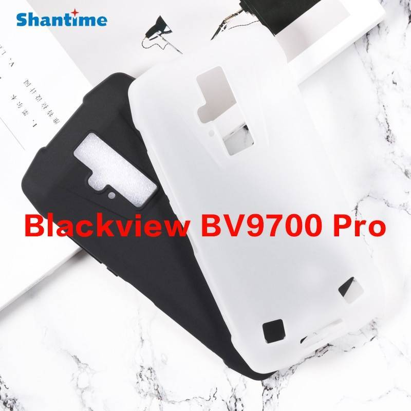 Funda de proteccion en silicona para movil chino Blackview BV9700 Pro