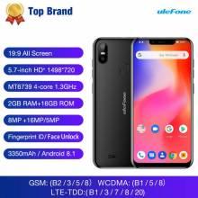 Movil chino Ulefone S10 Pro 4G Android 8,1 bateria 3350mAh pantalla 5,7 pulgadas 2GB + 16GB