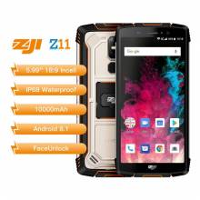 Movil chino HOMTOM ZOJI Z11 bateria 10000mAh IP68 impermeable 4GB 64GB 4G FDD pantalla 5,99 pulgadas