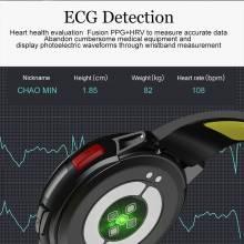 Reloj inteligente DT68 Fitness Tracker IP68 impermeable monitor de ritmo cardíaco