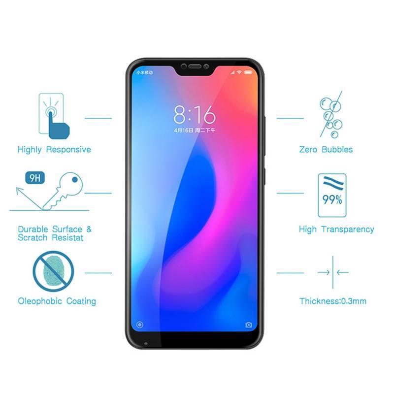 2 Unidades de protector de pantalla vidrio templado de alta calidad para movil chino Xiaomi mi A3