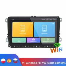Reproductor multimedia de 9 pulgadas Android 6.0 Radio con pantalla tactil 2 Din