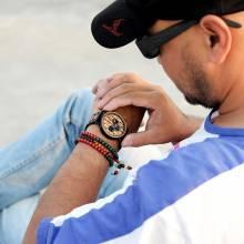 Reloj de madera BOBO BIRD para hombrecon diseño elegante de lujo