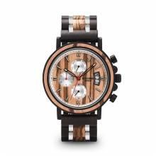 Reloj de madera BOBO BIRD para hombre con un estilo actual y moderno
