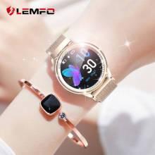 Reloj inteligente LEMFO LT05 para mujer de 1,03 pulgadas monitor de ritmo cardíaco IP67