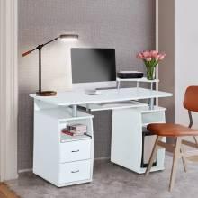 Mesa escritorio de madera comoda y funcional para despacho u oficina en el hogar