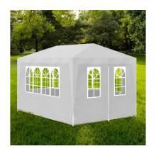 Preciosa carpa de fiestas para jardin blanca 3x4 m