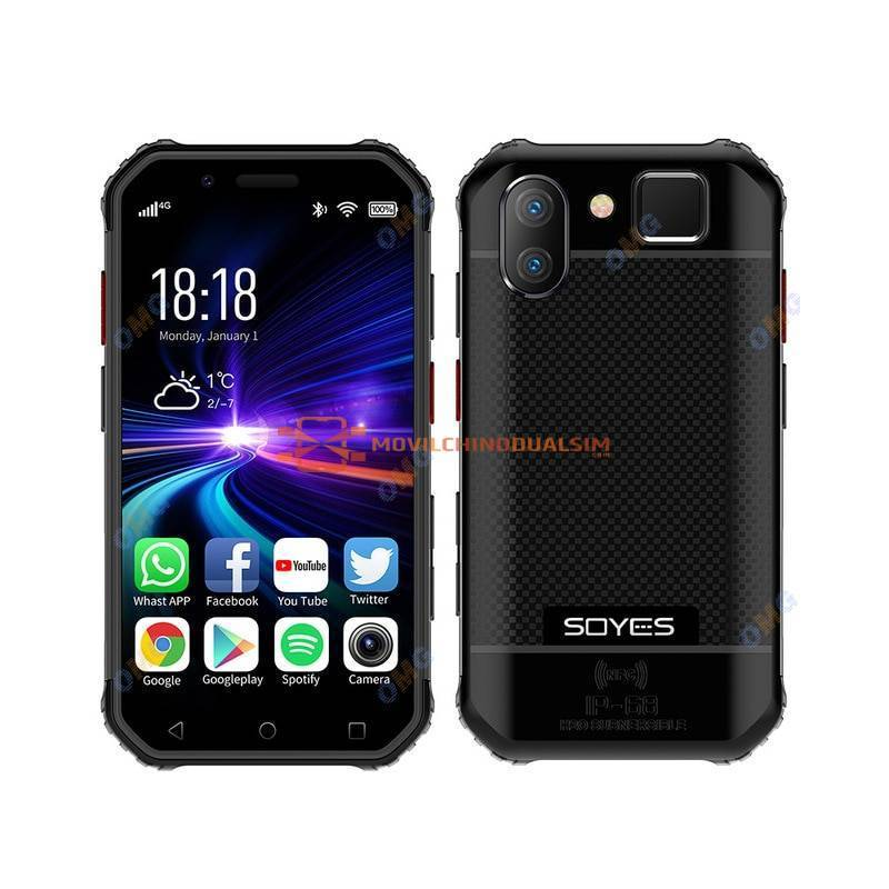 Movil chino pequeño mini a prueba de golpes NFC SOS Walkie talkie 3GB + 32GB 4G