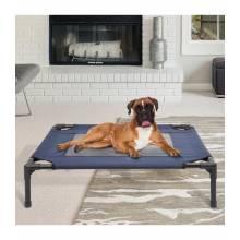 Preciosa cama para perros o gatos en color azul y negro