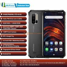 """Ulefone Armor 7 RAM 8GB ROM 128GB NFC bateria 5500mAh 48MP Cámara Android 9,0 impermeable pantalla 6,3"""""""