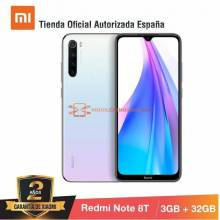 "Movil chino Redmi Note 8T [Versión Global] pantalla 6,3"" FHD + 4GB RAM,64GB ROM, Snapdragon 665, bateria 4.000 mah"