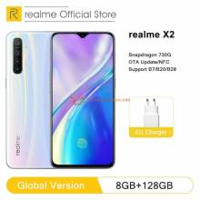 "Movil chino Versión Global realme X2 8GB RAM 128GB ROM NFC pantalla 6,4"" Snapdragon 730G 64MP carga rápida"