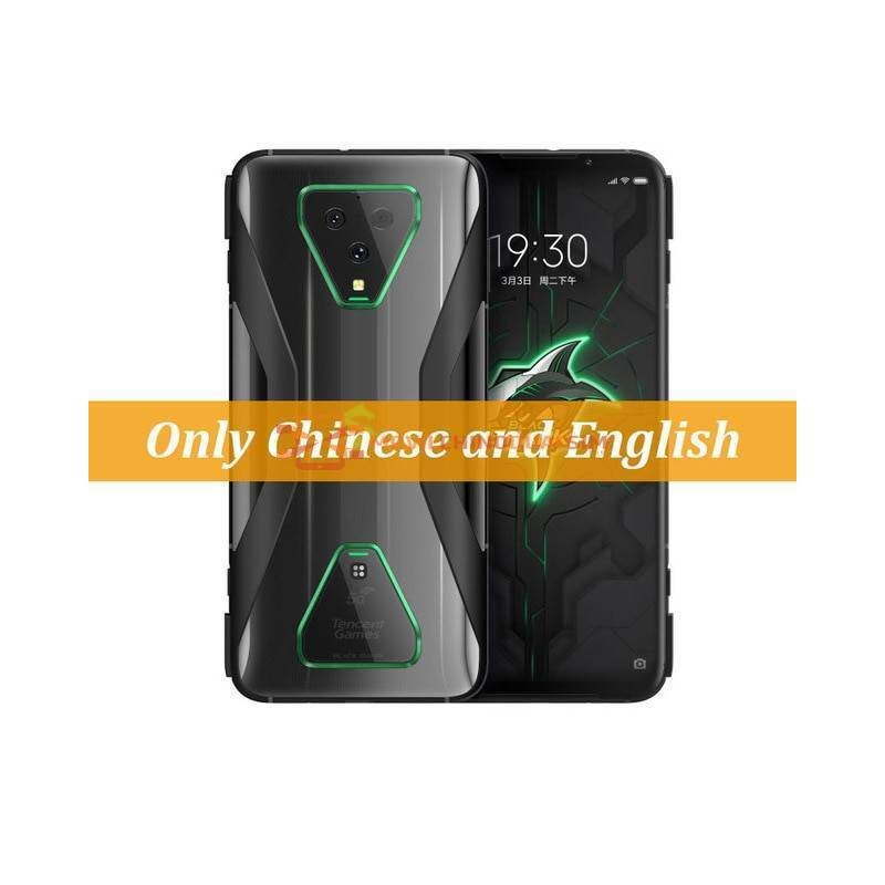 Movil chino Xiaomi Black Shark 3 Pro 5G Snapdragon 865 8GB 0 12GB RAM y ROM 256GB pantalla Octa Core pantalla 7,1""