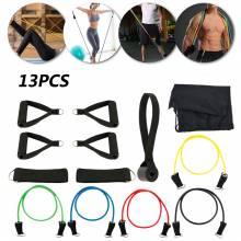 Bandas elasticas para hacer ejercicio Fitness 13 und.