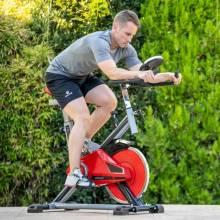BICICLETA ECODE SPINNING Volante de inercia de acero 21 kg