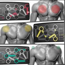 Push-up 14 en 1 Fitness ejercicio para hombres y mujeres la mejor manera de hacer ejercicio en casa