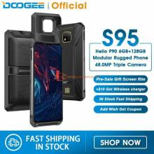 "Movil chino DOOGEE S95 IP68 resistente golpes pantalla 6,3"" Helio P90 Octa Core 6GB 128GB 48MP bateria 5150mAh"