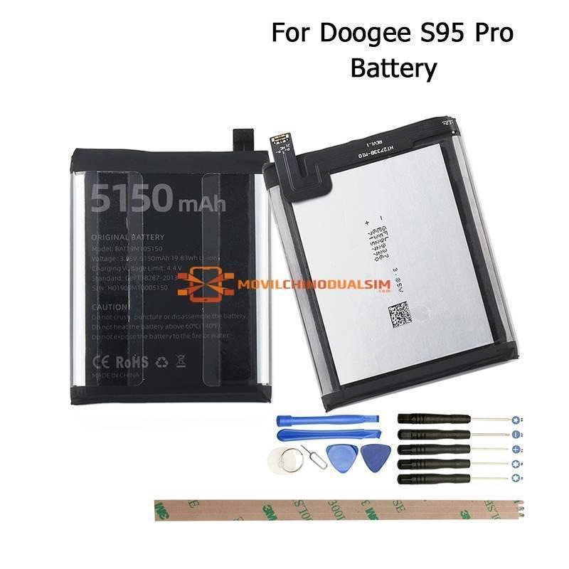 Bateria original de 5150 mAh para movil chino Doogee S95 Pro