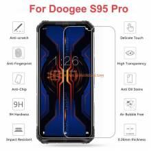 2 Unidades de protector de pantalla vidrio templado de alta calidad para movil chino Doogee S95 Pro