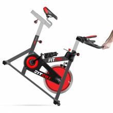 Bicicleta Spinning estatica Indoor ergonomica disco inercia 24kg