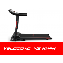 Cinta de correr plegable 1600W entrada de Mp3 altavoces 1.5CV