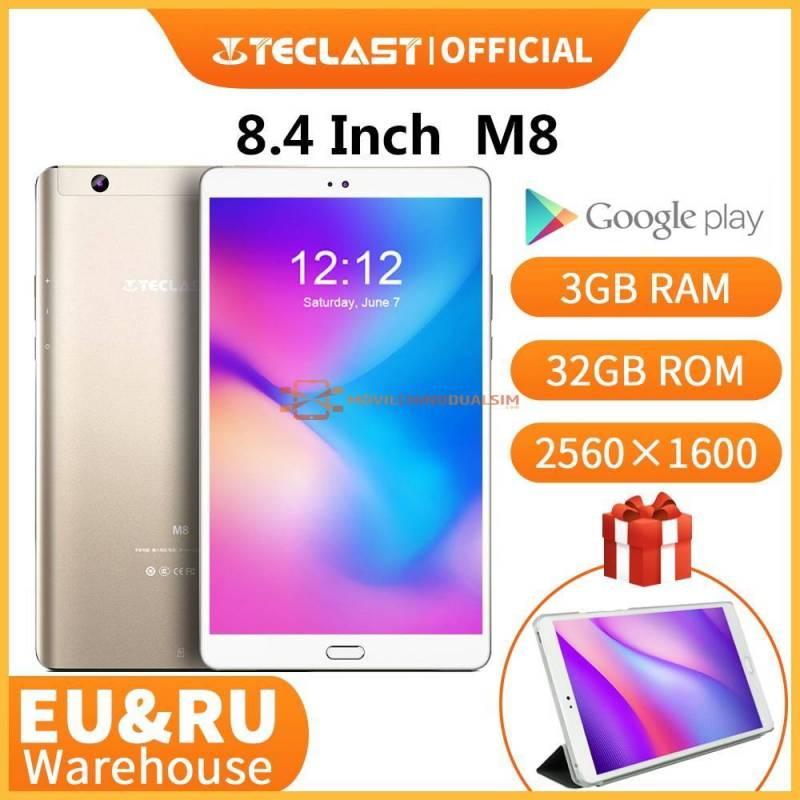 Tablet china Teclast M8 pantalla de 8,4 pulgadas Android Netbook 3GB RAM 32GB ROM 2560x1600 Quad Core Wifi GPS Cámara Dual