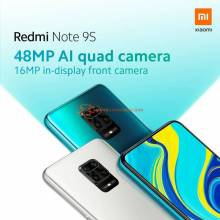 "Movil chino Xiaomi Redmi Note 9S version Global 6GB 128GB  Snapdragon 720G pantalla 6.67"" FHD Bateria 5020mAh"