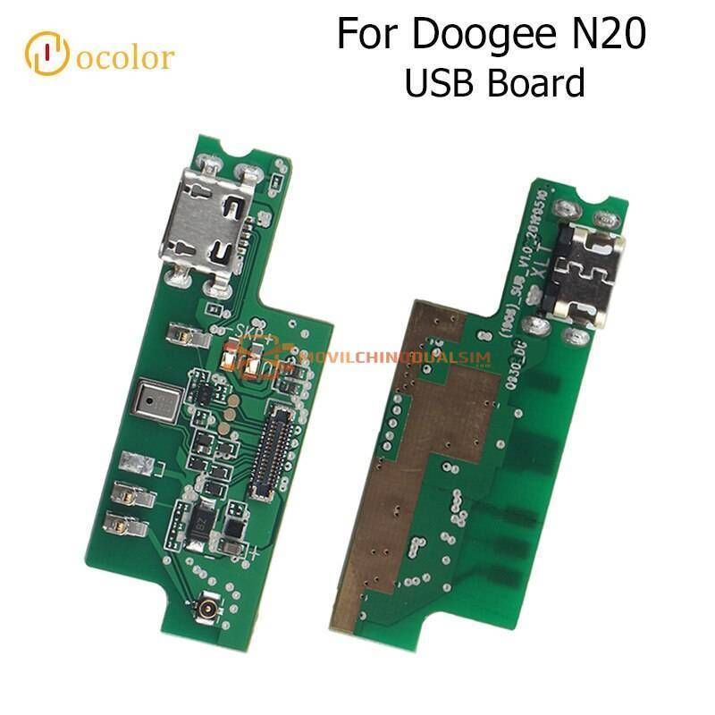 Repuesto placa USB cargador de enchufe para movil chino Doogee N20