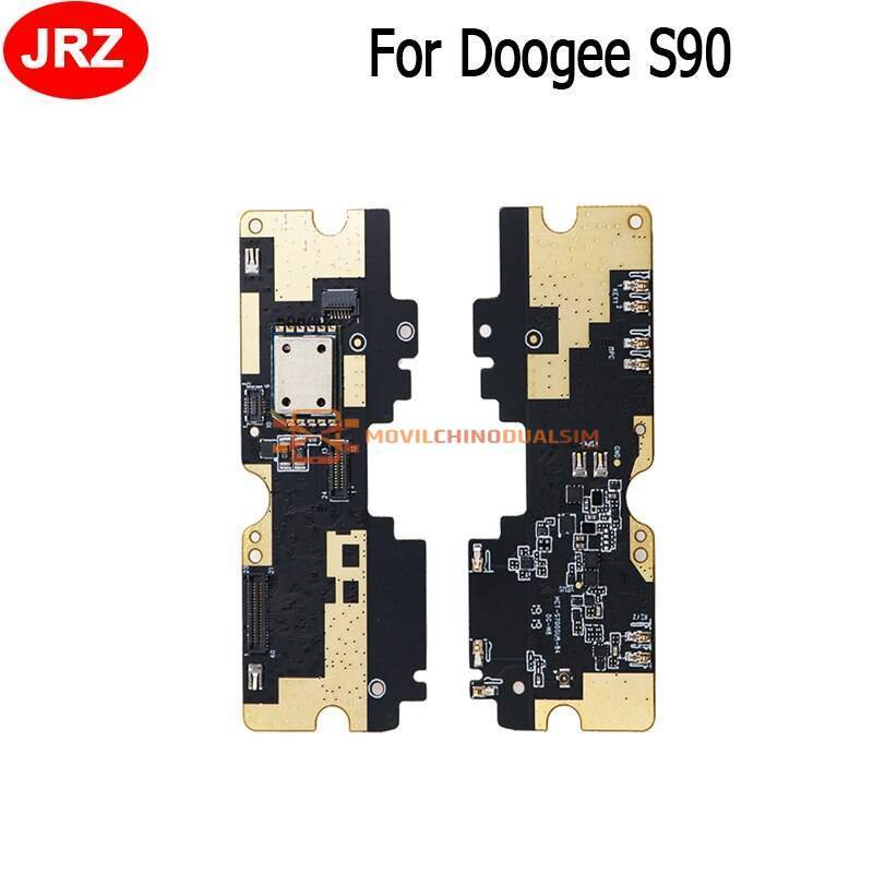 Repuesto placa USB cargador de enchufe para movil chino Doogee S90