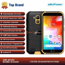 Movil chino Ulefone Armor X7 de pantalla 5,0 pulgadas Android 10 resistente a prueba de agua de 2GB 16GB ip68