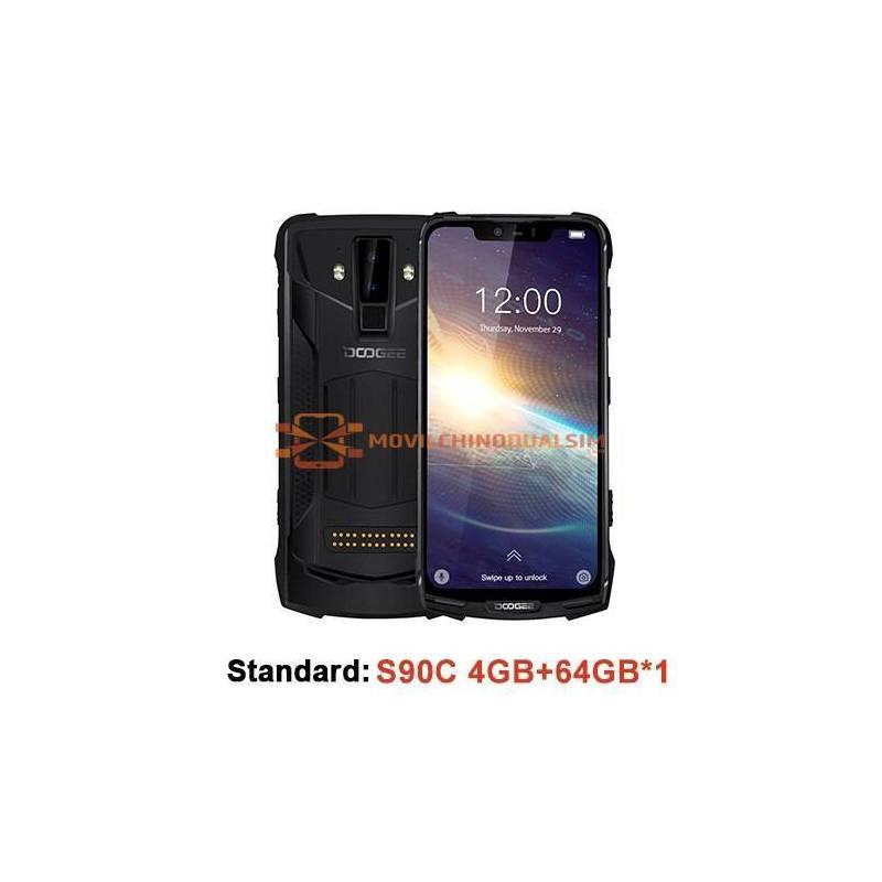 Movil chino DOOGEE S90C IP68 pantalla 6.18 pulgadas 12V2A bateria 5050mAh Helio P70 Octa Core 4GB 64GB o 128Gb