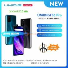 Movil chino UMIDIGI S5 Pro Helio G90T de procesador de 6GB 256GB FHD  AMOLED bateria 4680mAh