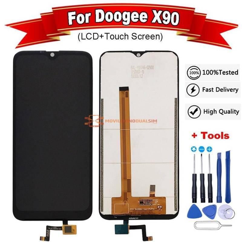 Pantalla LCD + pantalla táctil de reemplazo para movil chino Doogee X90