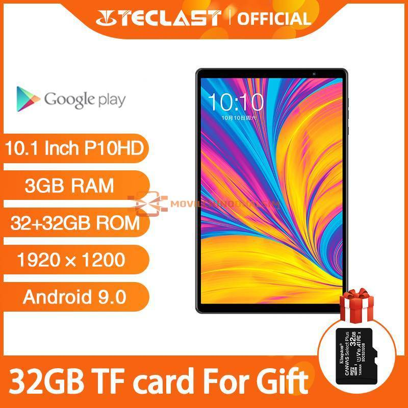 Tablet china Teclast P10HD pantalla 10.1 Android 9.0 1920x1200 SC9863A Octa Core 3GB RAM 32GB ROM