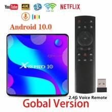 Tv box X88 PRO 10 TV inteligente Android 10,0 4GB 32GB 64GB Rockchip RK3318 4K 1080P