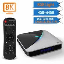 Tv box Transpeed A95X F3 8K Android 9.0 Amlogic S905X3 4K 4GB 16GB 32GB 64G