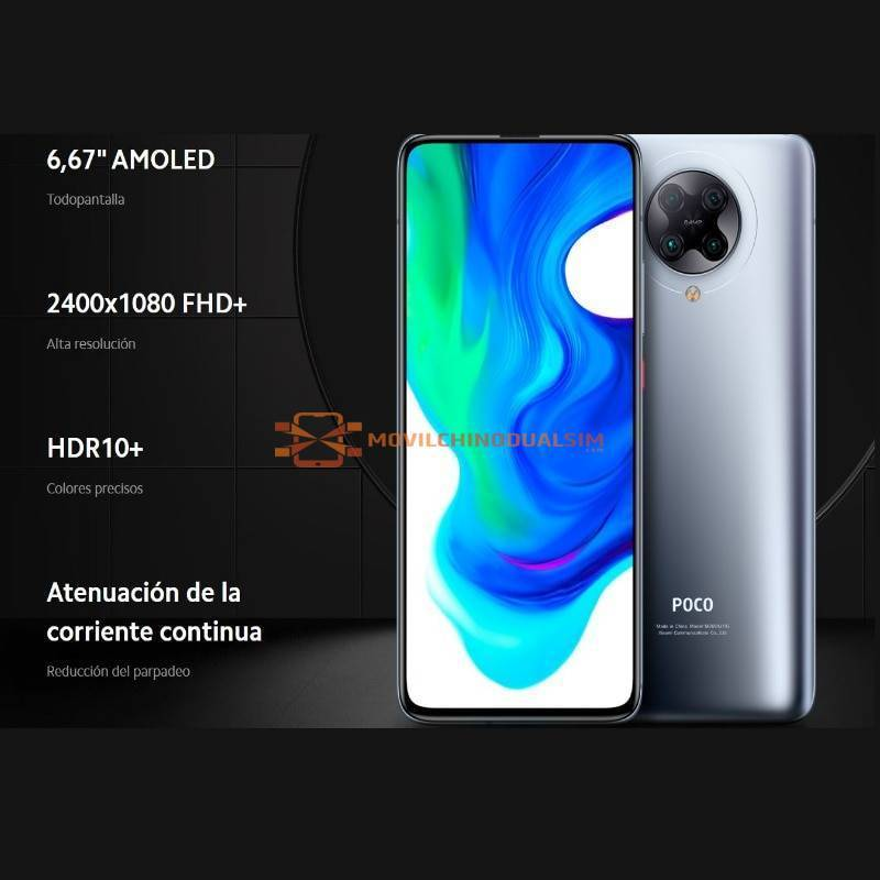 Movil chino Xiaomi POCO F2 Pro 5G con 128GB ROM 6GB RAM Snapdragon 865 Version Global para España